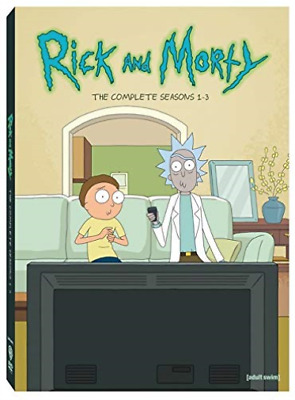 Rick & Morty: Complete Seas...-Rick & Morty: Complete Seasons 1-3 (6Pc)  Dvd New
