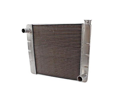 """GM Chevy Style 19/""""x24/"""" Aluminum Universal Radiator Heavy Duty Extreme Cooling"""