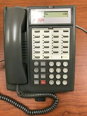 Avaya Partner 18D Phone for ACS Telephone System - GRAY Pull out Tray