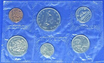 1968 Canada Royal Canadian Mint Proof Like Set Of 6 Coins - Unc  - Bwb-645