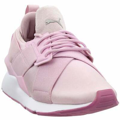 PUMA MUSE SATIN II Sneakers Casual Pink Womens $41.99