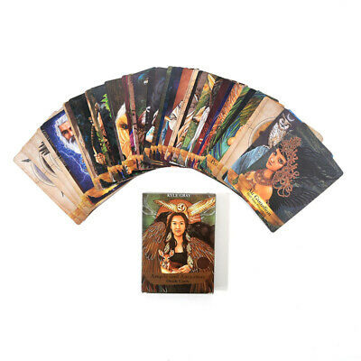 55 Pcs Angels And Ancestors Oracle Cards + Guidebook By Kyle Gray Magic Tools