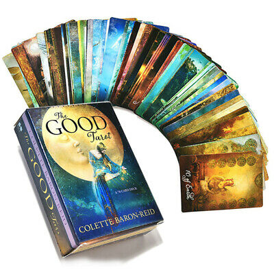 The Good Tarot A 78x Card Deck and Guidebook by Colette Baron-Reid Divination