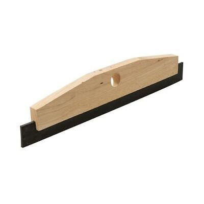 """18"""" Or 24"""" Rubber Squeegee With Sturdy Rubberwood Flexible Head"""