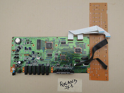 Parts Keyboard ROLAND  MAINBOARD CPU + Command board JX1 JX 1 VG condition