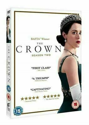 The Crown Season 2 UK DVD Brand New/Sealed Fast & Free postage All UK Compatible