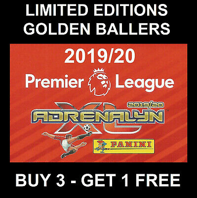 Panini Adrenalyn LIMITED EDITION Premier League 2019/20 Football cards