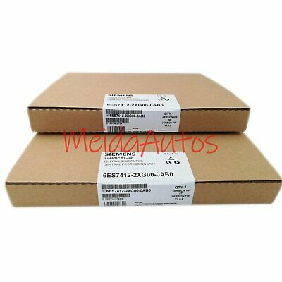 New in box Siemens 6ES7 412-2XG00-0AB0 6ES7412-2XG00-0AB0 One year warranty