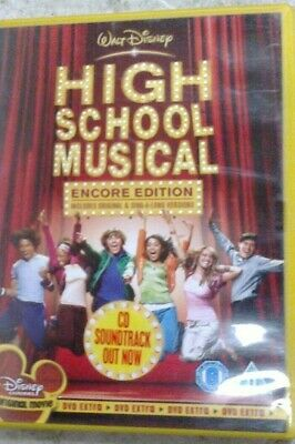 High School Musical - Encore Edition  - Region 2 Dvd - (Tr1)