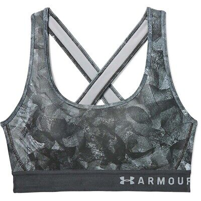 Under Armour Mid Keyhole Bra Sport-BH Damen F001