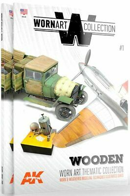 AK Interactive AK4901 - WAM1 - Wooden - Worn Art Thematic Collection        Book