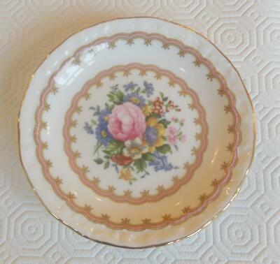 Vintage Royal Albert Bone China Pin Tray Lady Carlyle Pattern 4.75In Wide