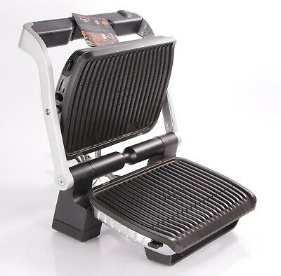 Tefal OptiGrill GC702 D16 Kontaktgrill Tischgrill silber barbecue