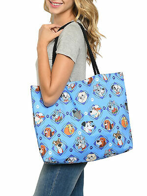 Disney Dogs Travel Tote Bag Carry-On 101 Dalmatians Lady & The Tramp