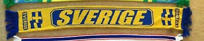 SWEDEN SVERIGE Football Association Scarf