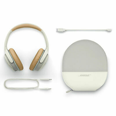 Bose SoundLink Wireless Around Ear Headphones II   WHITE WITH ALL SOUNDLINK II