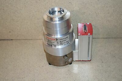 PFEIFFER VACUUM TURBO PUMP MODEL TMH071P TMH 107 P w/ model TC100