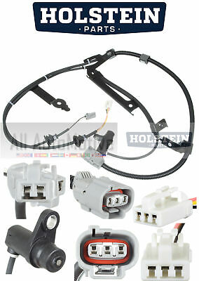 ABS Wheel Speed Sensor Rear Holstein 2ABS2562 fits 2009 Nissan GT-R