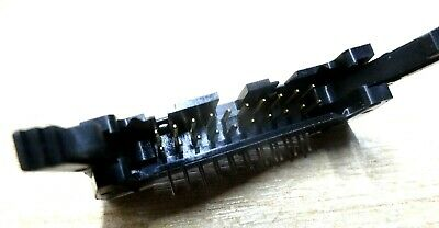 10  PCB 20 way latched right angle IDC header plug RA