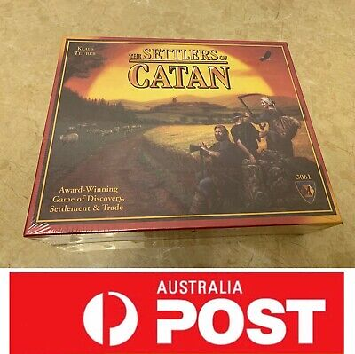 Settlers Of Catan Board Game 4th Edition, Vintage Classic, AU Stock