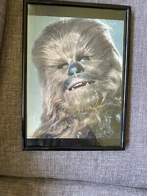 Star Wars Peter Mayhew signed Chewbacca picture