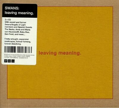 SWANS - Leaving Meaning - CD (2xCD)