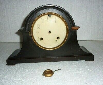 Antique New Haven Mantle Clock For Parts or Restore