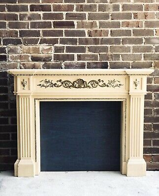 Vintage Fire Surround Fireplace Mantle