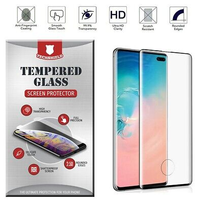 For Samsung Galaxy S10/S10 Plus Tempered Glass With Fingerprint Sensor Cutout