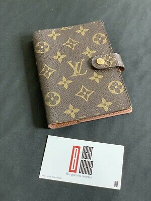 100% Authentic Louis Vuitton Monogram Agenda PM Notebook Cover /b133