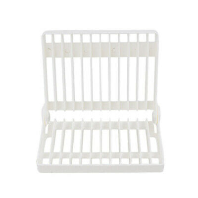 Foldable Dish Rack Stand Holder Bowl Plate Organizer Tray Drainer Shelf Home Use