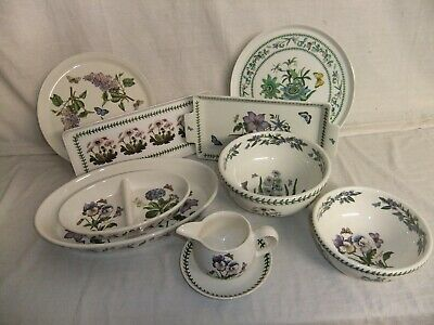 C4 Pottery Portmeirion The Botanic Garden - serving dishes, platters, trays 4C5A
