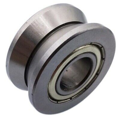 New 1pcs V Groove 15*38*17mm Sealed Ball Track Roller Guide Vgroove Bearing