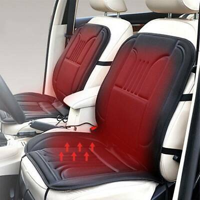 2pcs Universal Electric Heated Car Seat Cushion Cover Pad Heating Heater 12V