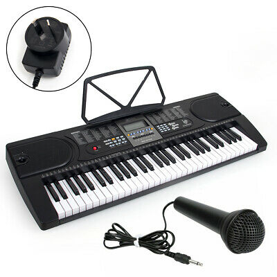 Digital Electric Keyboard Piano 255 Timbres 61 Key With Microphone MK-2106 Kmise