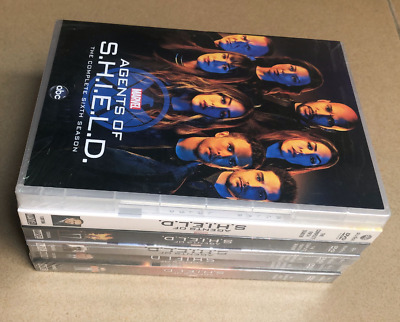 AGENTS OF SHIELD COMPLETE SERIES 1-6 Season  (DVD SETS) Brand 1-5+6 1 2 3 4 5 6