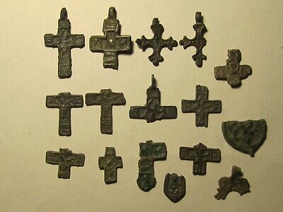 Very beautiful fragments of ancient beautiful crosses of the 13th century. № 33