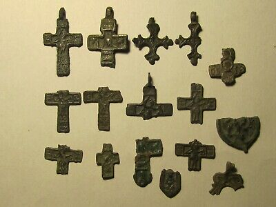 Very beautiful fragments of ancient crosses of the 13th century. № 33