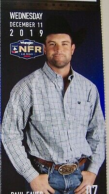 (1) National Finals Rodeo Single Ticket NFR Low Balcony WED Dec 11th 12/11/2019