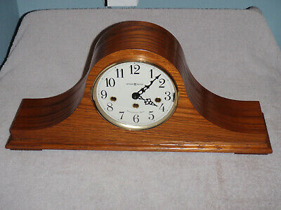 Howard Miller 630-163 Mantel Clock 8 Day Key Wound Westminster Chime Beautiful!