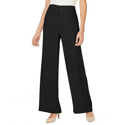 ALFANI NEW Women's High-waisted Wide-leg Dress Pants TEDO