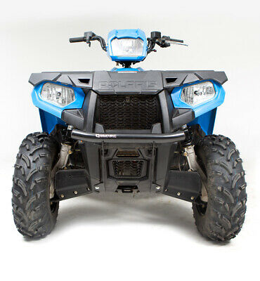 HMF Racing Defender Front Bumper Black Polaris Sportsman 450 570