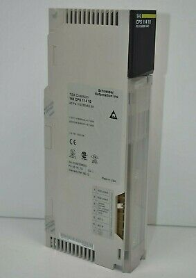 Modicon 140CPS11410 AC Power Supply 115//230V 8A