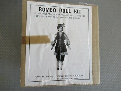 Romeo Porcelain Doll Kit By Yield House #3029121
