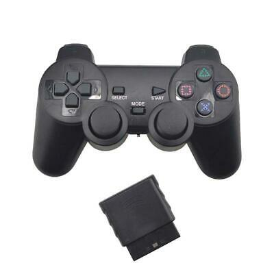 Wireless Gamepad Vibrator 2.4G Game Controller Joystick with Receiver for PS2