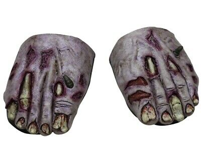 Foot Covers - Zombie Undead - Halloween Fancy Dress Costume Shoes Accessory