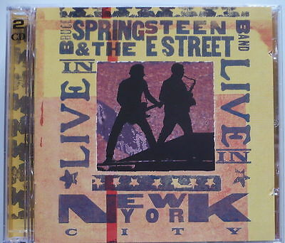 BRUCE SPRINGSTEEN & THE E-STREET BAND - Live in New York City - DCD