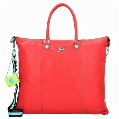 Borsa a mano GABS G3 PLUS TG M trasformabile made in Italy rosso 39x31cm G33T2.X