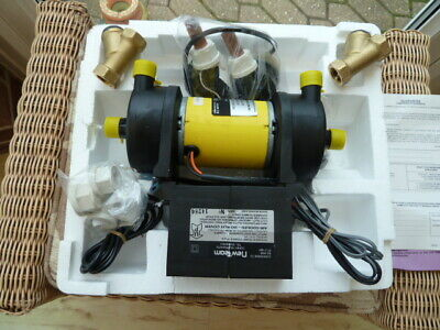 A new Team DC35/50 shower pump new in orignal box with instructions