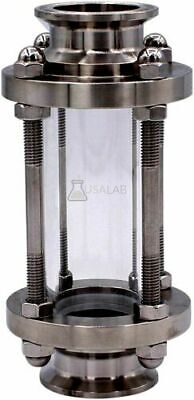 """2"""" Tri-Clamp Tall Sight Glass Stainless 304"""